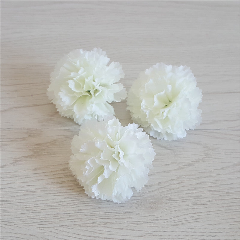 Wholesale Flower Heads Fake Silk Flowers Peony Large Flower Heads 6 Inches 100 Pcs