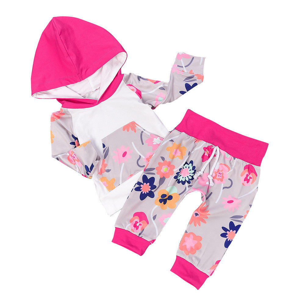 Floral Baby Girl Clothing Set