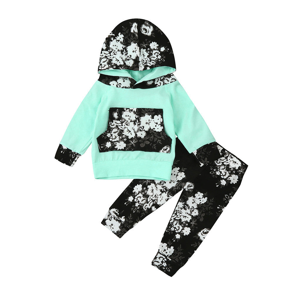 Baby Floral Clothing Set