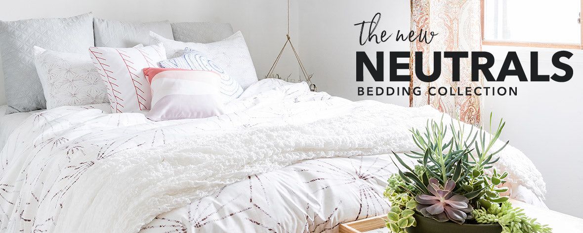 New Neutrals Bedding Collection