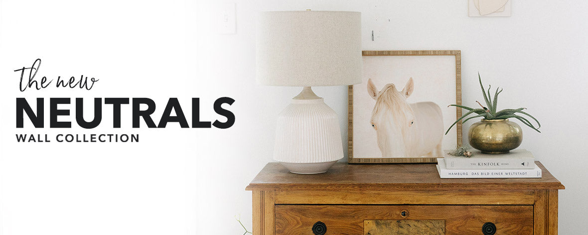 New Neutrals Wall Collection