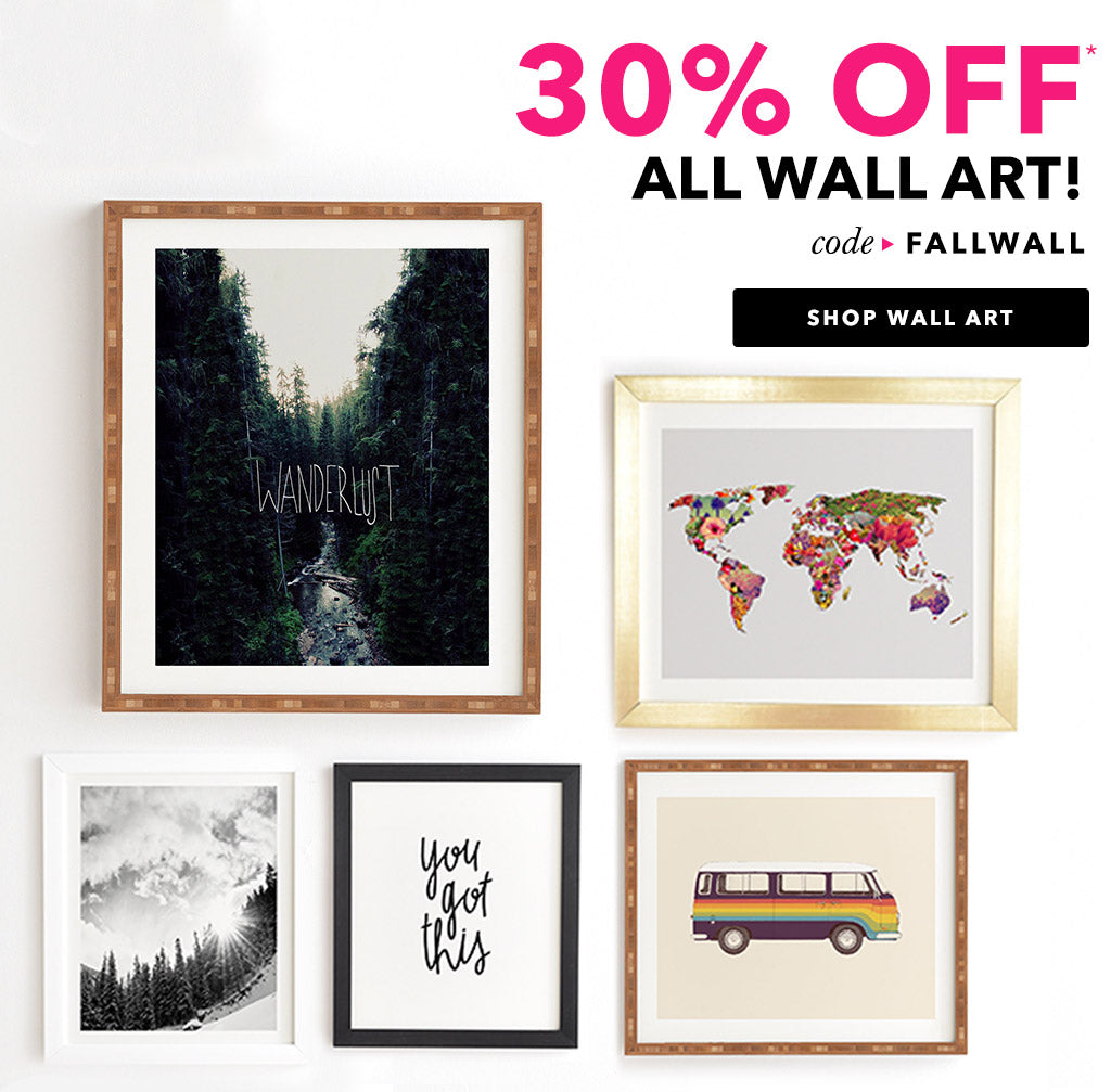 30% Off Wall Art