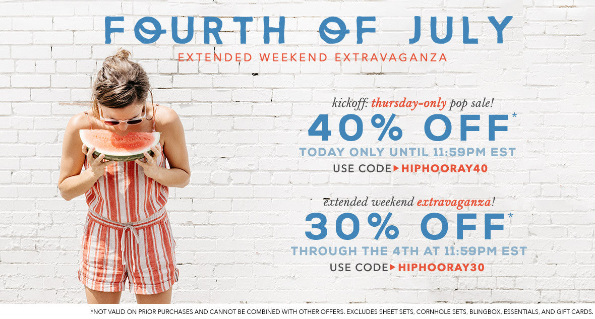Shop 4th of July Sale!