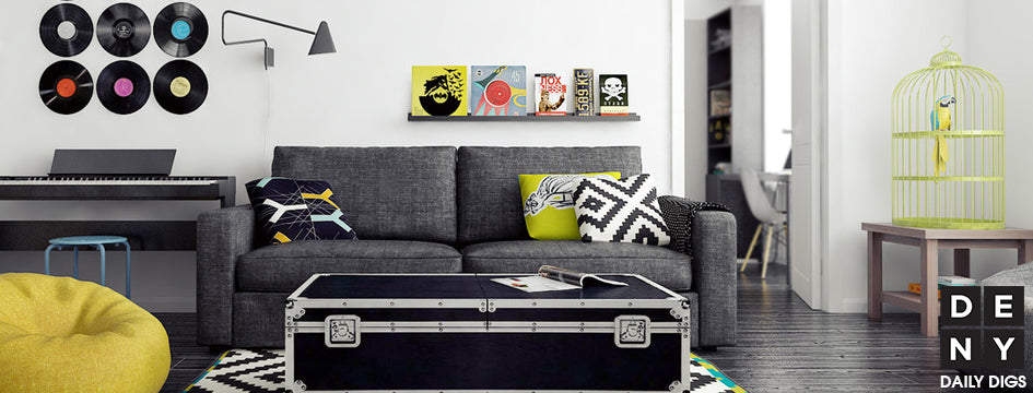 Rock N Roll Chartreuse Daily Digs Deny Designs Home Accessories