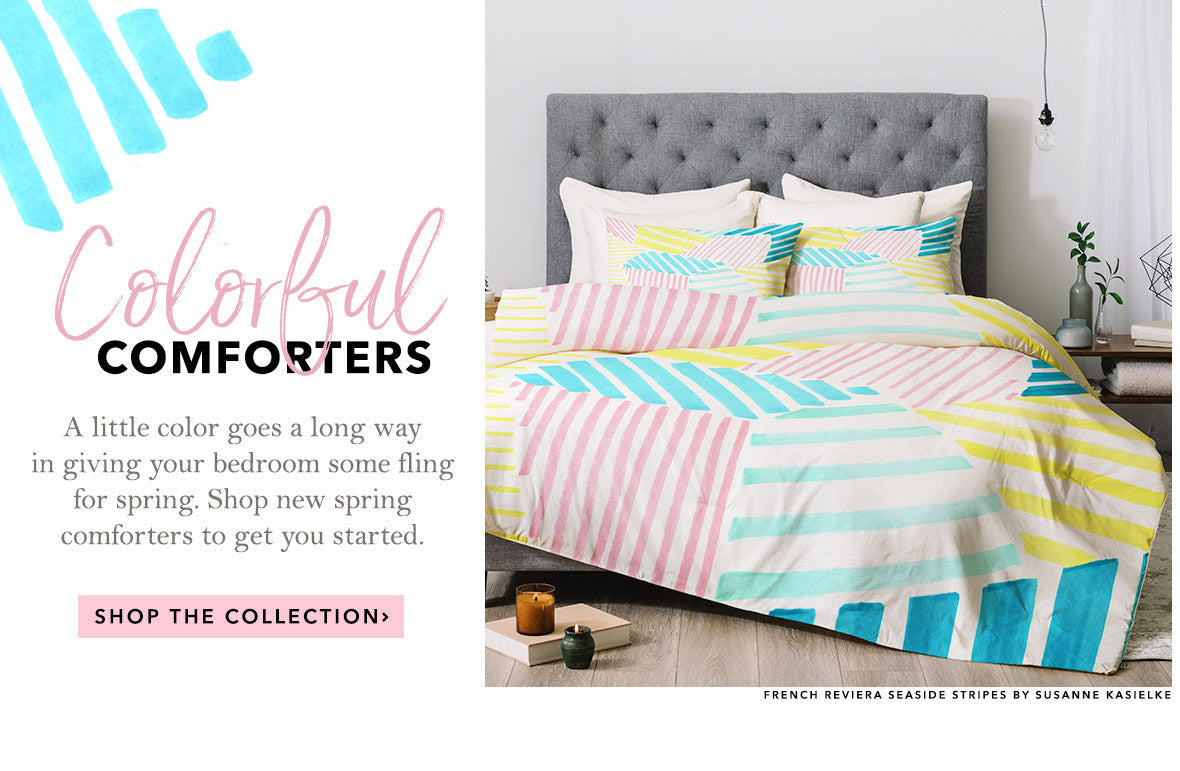 Shop the French Riviera Comforter Collection