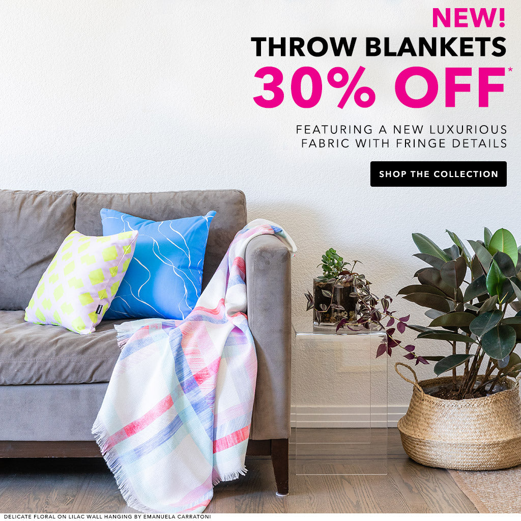 New! Throw Blankets