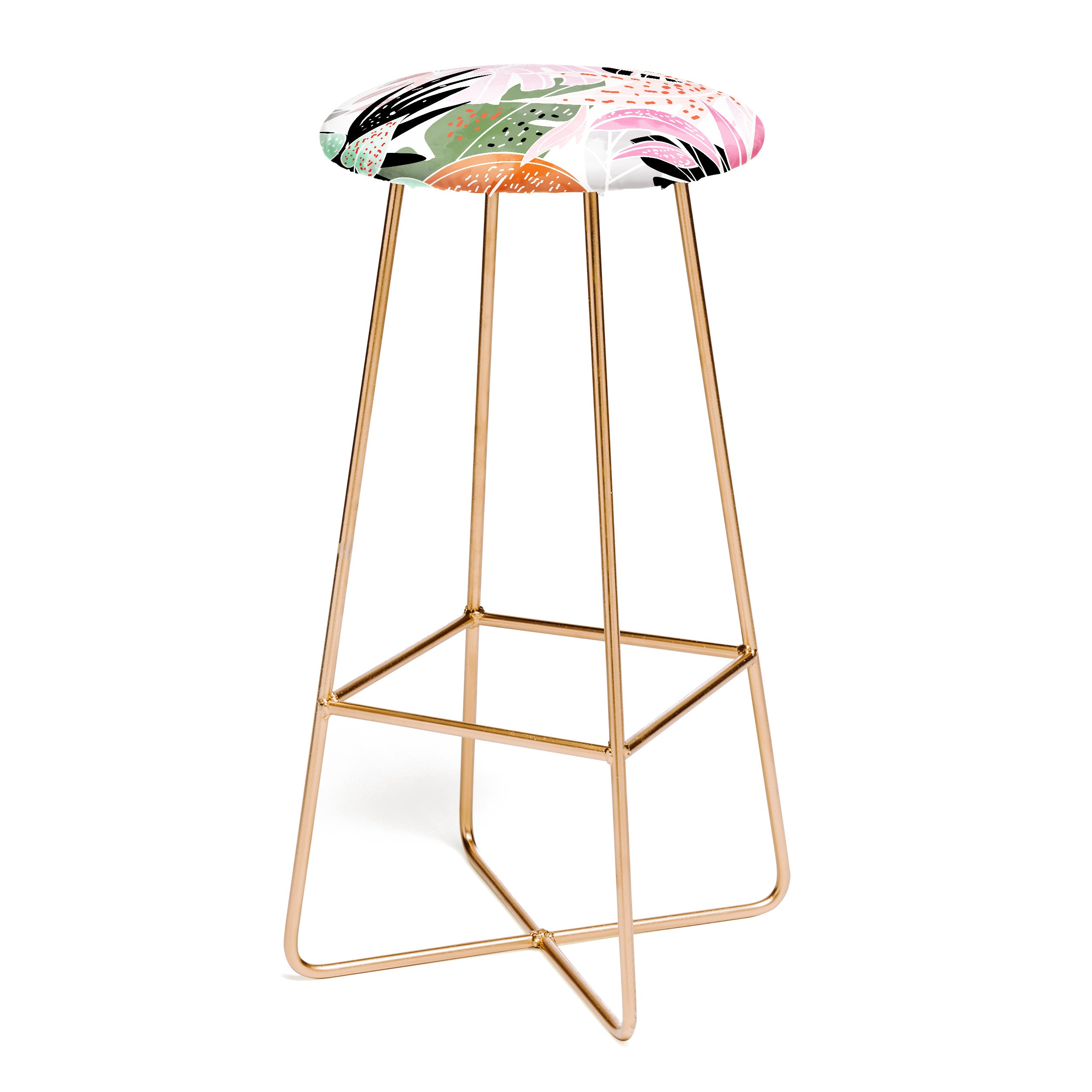 83 Oranges Veronica Bar Stool