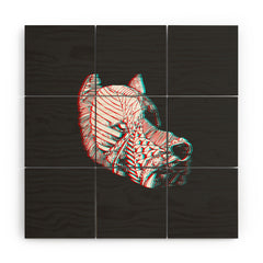 Adam Priester Spirit Dog Wood Wall Mural