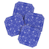 Aimee St Hill Amirah Blue Coaster Set