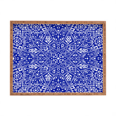 Aimee St Hill Amirah Blue Rectangular Tray