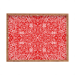 Aimee St Hill Amirah Red Rectangular Tray