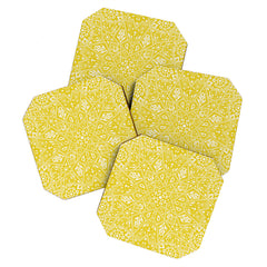 Aimee St Hill Amirah Yellow Coaster Set