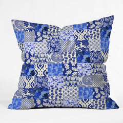 Aimee St Hill Blue Is Just A Mood Outdoor Throw Pillow