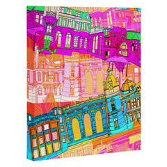 Aimee St Hill City Scape Art Canvas