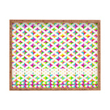 Aimee St Hill Color Block Rectangular Tray