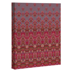 Aimee St Hill Farah Blooms Red Art Canvas