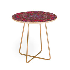 Aimee St Hill Farah Red Round Side Table