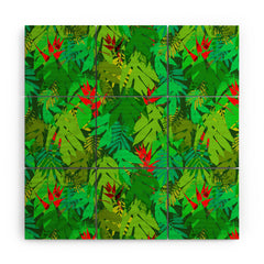 Aimee St Hill Heliconia 1 Wood Wall Mural