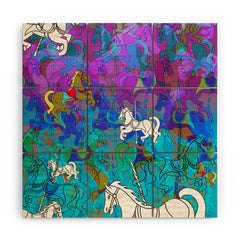 Aimee St Hill Merry Go Round Wood Wall Mural