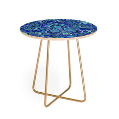 Aimee St Hill Paisley Blue Round Side Table