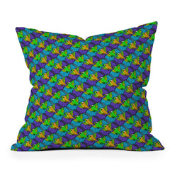 Aimee St Hill Parrots Throw Pillow