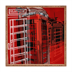 Aimee St Hill Phone Box Square Tray