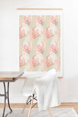 Aimee St Hill Tiger Fish Pink Art Print And Hanger