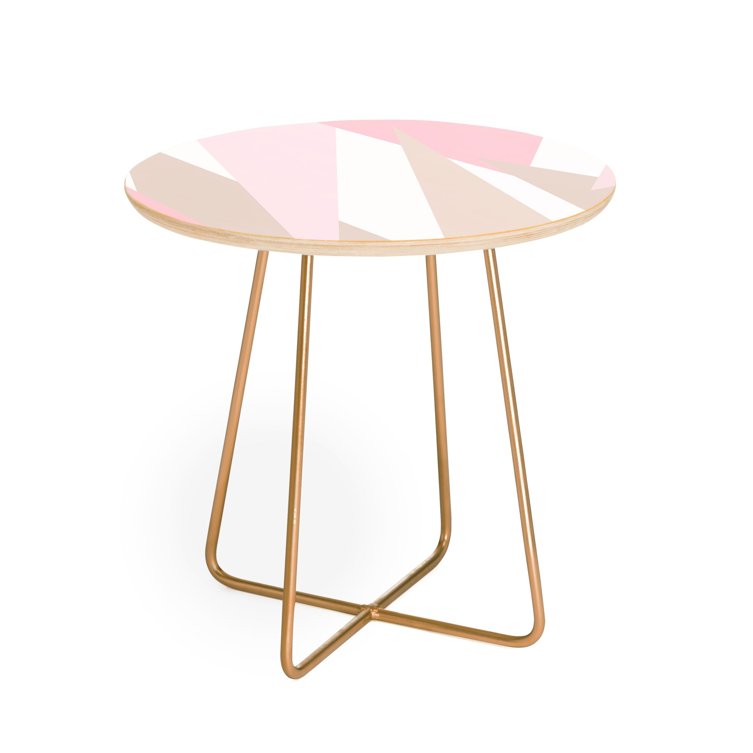Allyson Johnson Blush Mod Round Side Table