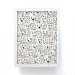Allyson Johnson Cat Obsession Framed Mini Art Print