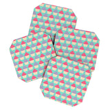 Allyson Johnson Cutest Cupcakes Coaster Set