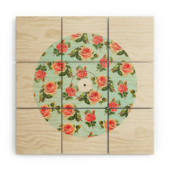 Allyson Johnson Floral Vinyl Wood Wall Mural