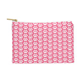 Allyson Johnson Pink Paw Prints Pouch