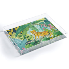 Ambers Textiles Jungle Leopard Acrylic Tray