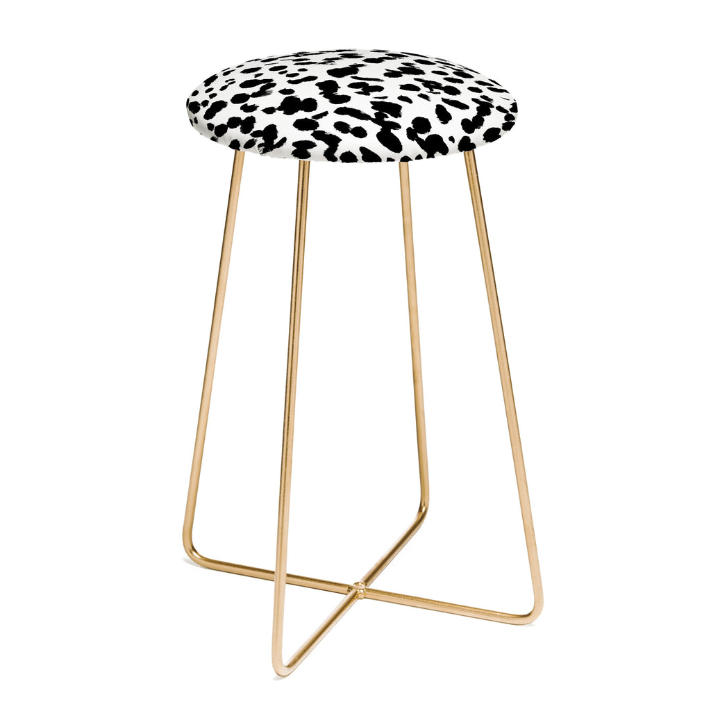 Animal Spot Black And White Counter Stool Amy Sia