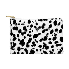 Amy Sia Animal Spot Black and White Pouch