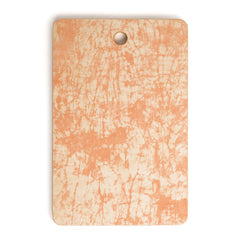 Amy Sia Crackle Batik Peach Cutting Board Rectangle