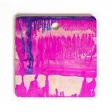 Amy Sia Dip Dye Hot Pink Cutting Board Square