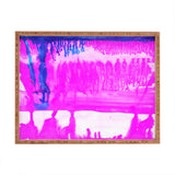 Amy Sia Dip Dye Hot Pink Rectangular Tray