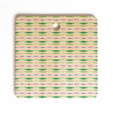 Amy Sia Inky Oceans Stripe Cutting Board Square