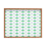 Amy Sia Inky Oceans Stripe Rectangular Tray
