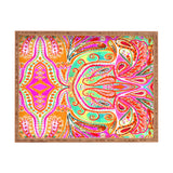 Amy Sia Paisley Pink Rectangular Tray