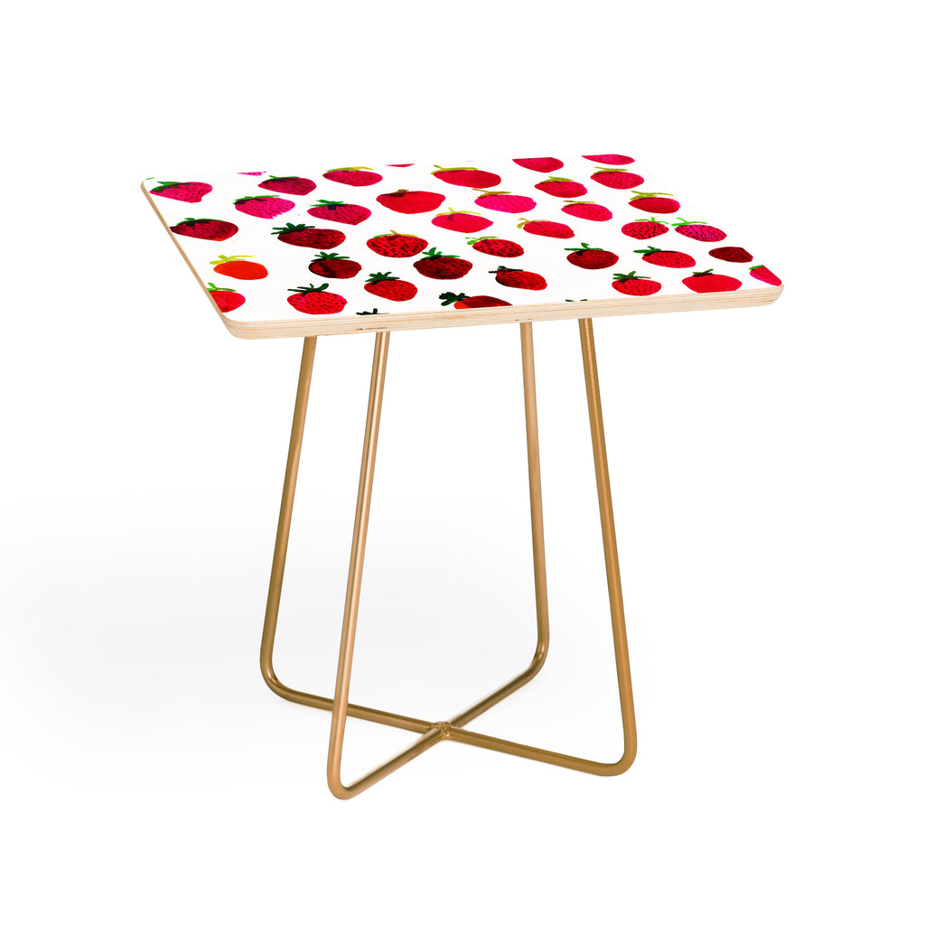 Strawberry Fruit Side Table Amy Sia