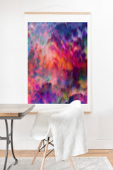 Amy Sia Sunset Storm Art Print And Hanger