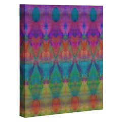 Amy Sia Tribal Diamonds 1 Art Canvas