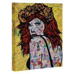 Amy Smith Em on Fire Art Canvas