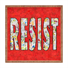 Amy Smith RESIST Square Tray