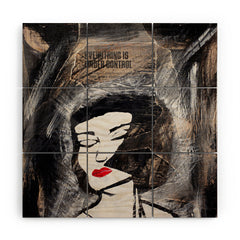 Amy Smith Under Control Wood Wall Mural