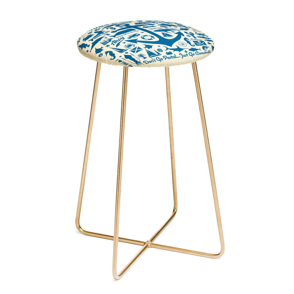 Anderson Design Group Anchors Aweigh Counter Stool DENY  : anderson design group anchors aweigh counter stool white background SQUARE aston gold1024x1024 from www.denydesigns.com size 1024 x 1024 jpeg 66kB