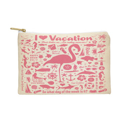 Anderson Design Group Flamingo Pattern Pouch
