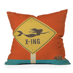 Anderson Design Group Mermaid X Ing Throw Pillow